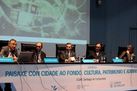 Inauguracion  - Xornadas sobre Paisaxe con Cidade ao Fondo: Cultura, Patrimonio e Administracion